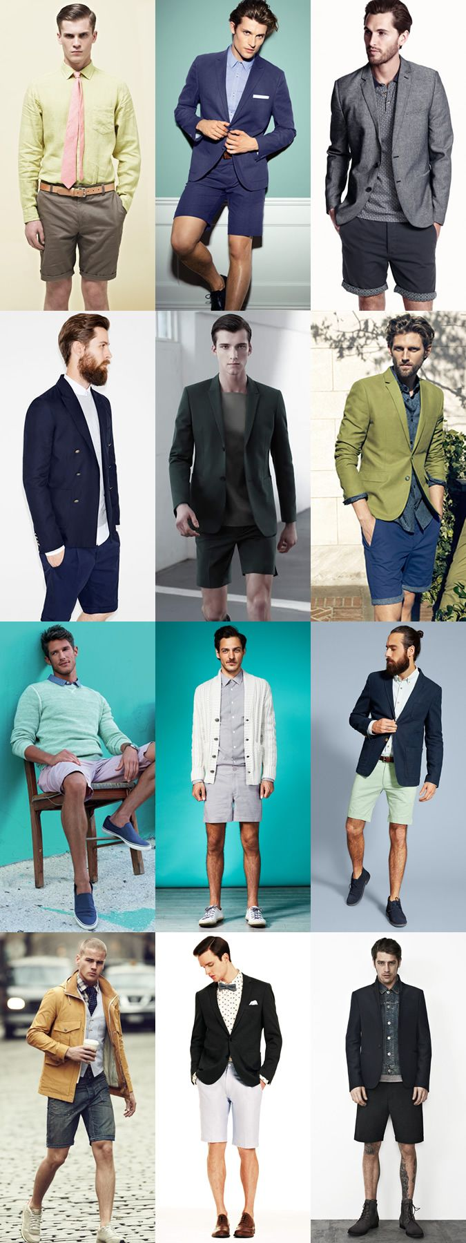 Mens Smart-Casual Shorts Outfits | Men´s Style | Pinterest | Casual ...