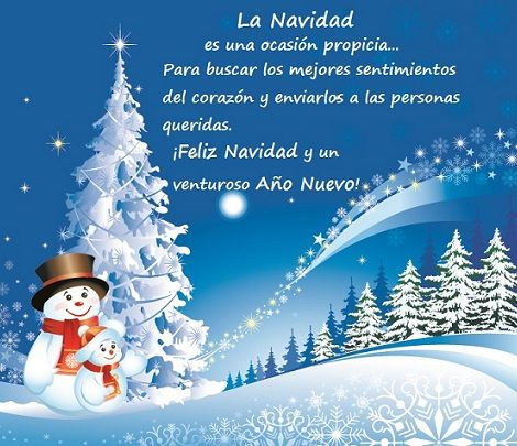 30 dedicatorias navide as para felicitar a tus amigos en - Postal navidad original ...