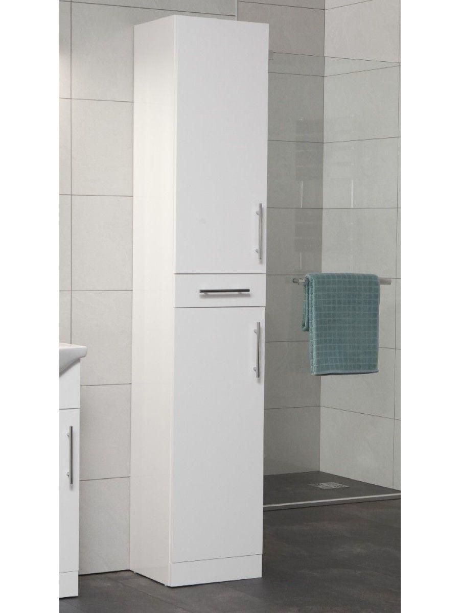 Tall Bathroom Storage Cabinet White