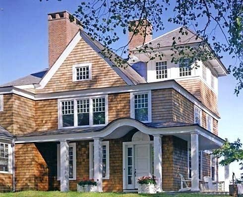 Best Image Result For Cedar Siding Craftsman House House Siding Beach House Plans Cedar Shakes 400 x 300