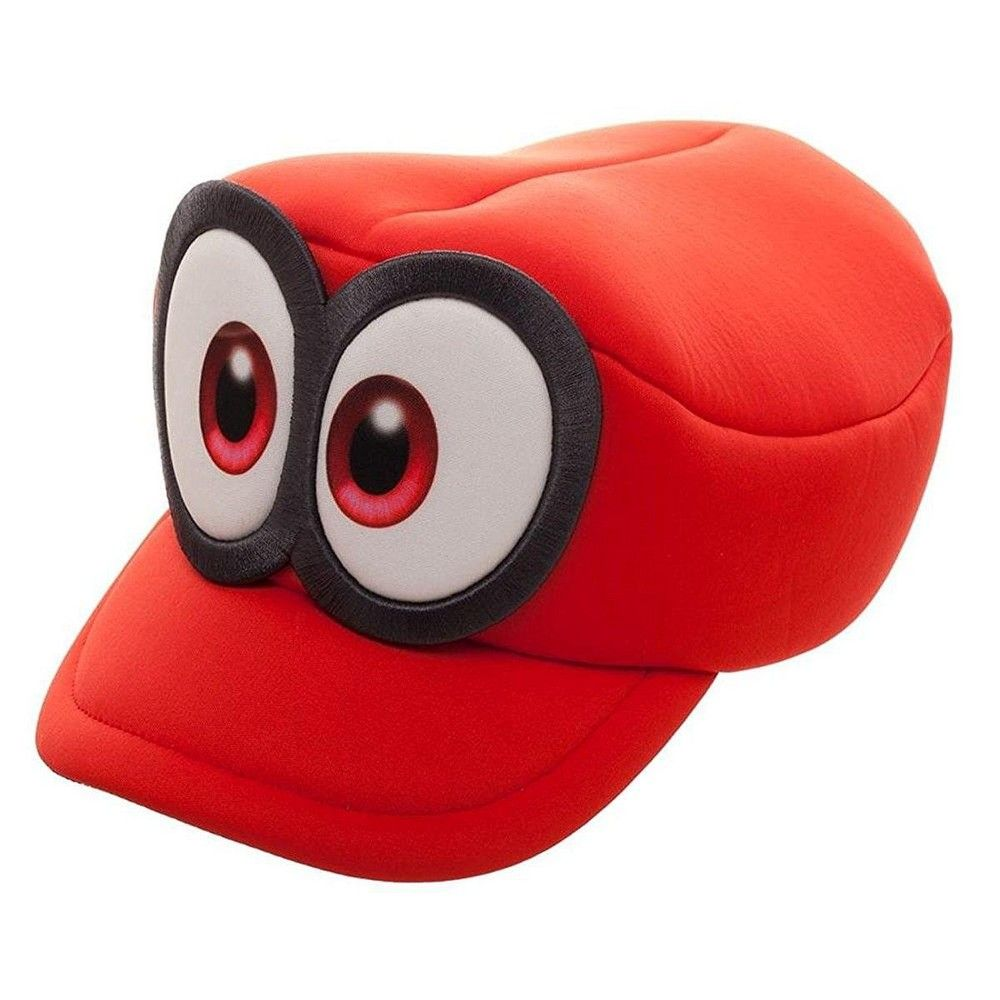 Bioworld Super Mario Odyssey Cappy Hat Cosplay Accessory Mario Hat Super Mario Hat Mario Cosplay