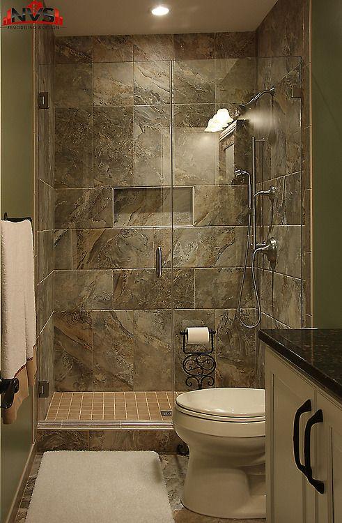 Pinlouise Cox On Log Cabin  Pinterest  Bath Showers And Awesome Basement Bathroom Design Ideas Design Ideas