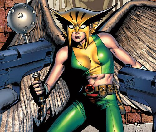 Hawkgirl show? Don't mind if I do.