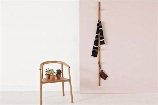 15 diseños de percheros para tu casa - Living - ESPACIO LIVING