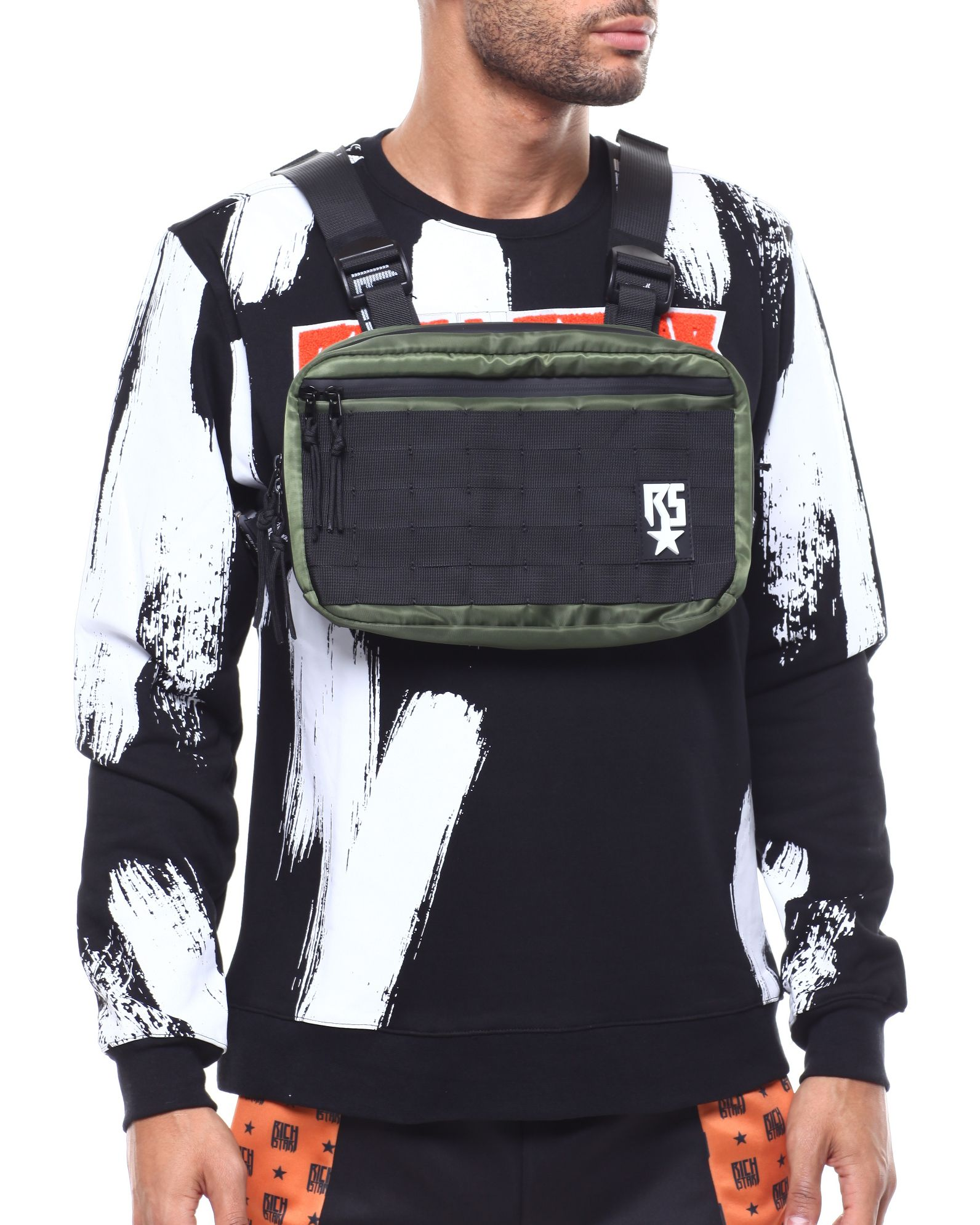 Backpacks Hip-hop Kanye West Street Ins Hot Style Chest Rig Military Tactical Chest Bag Functional Package Prechest Bag Vest Bag Lovers Cheapest Price From Our Site