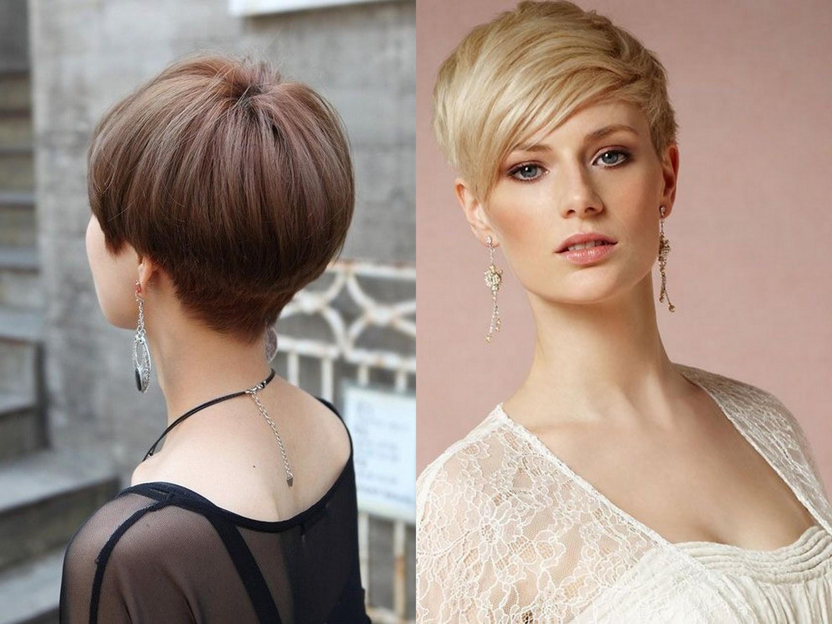 Короткая стрижка для тонких редких волос фото