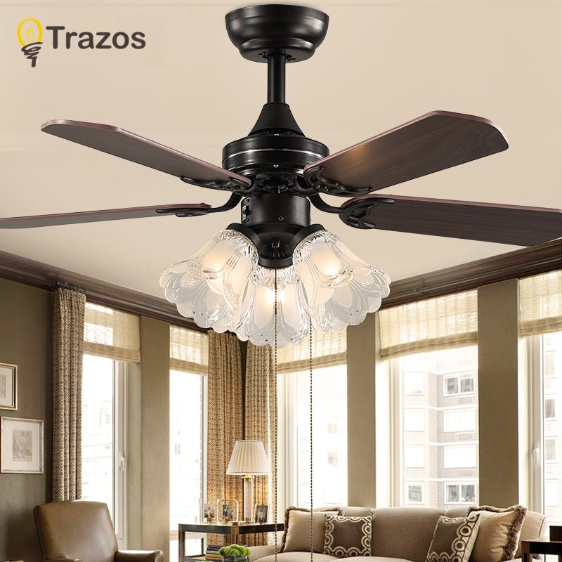 Bedroom Lights With Remote Control In 2020 Ceiling Fan Vintage