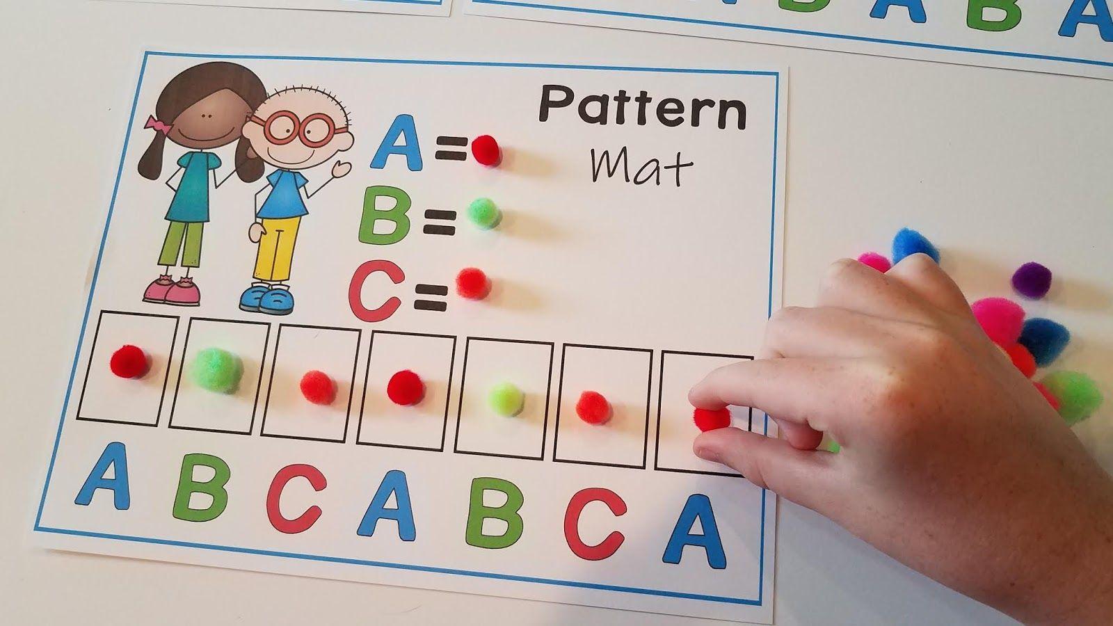 10 Pattern Centers For Kindergarten