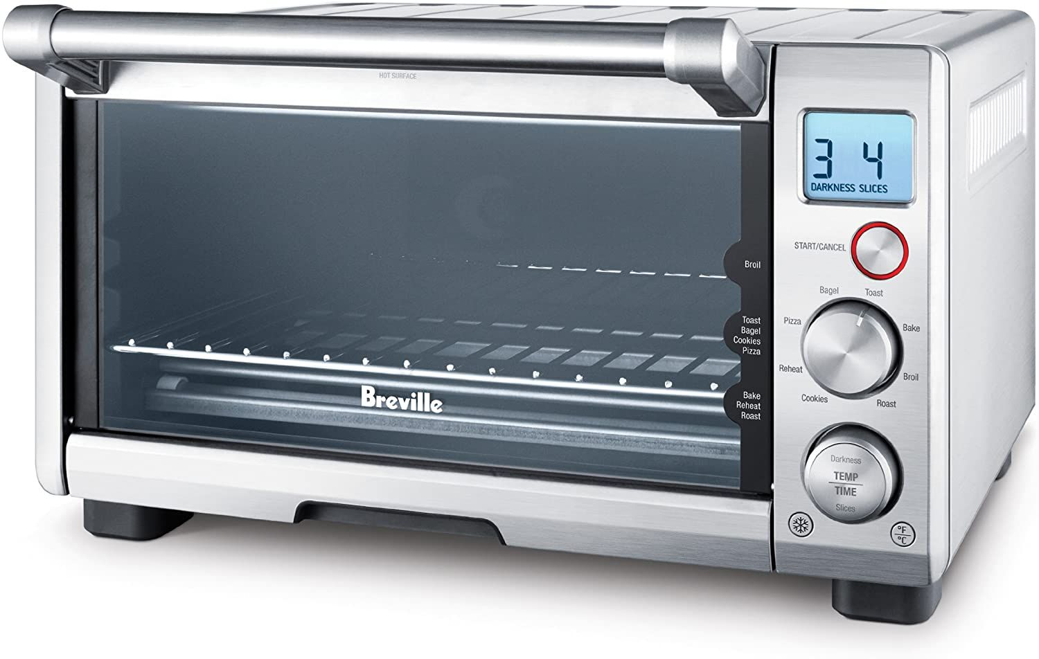 Breville The Compact Smart Oven Countertop Electric Toaster Oven