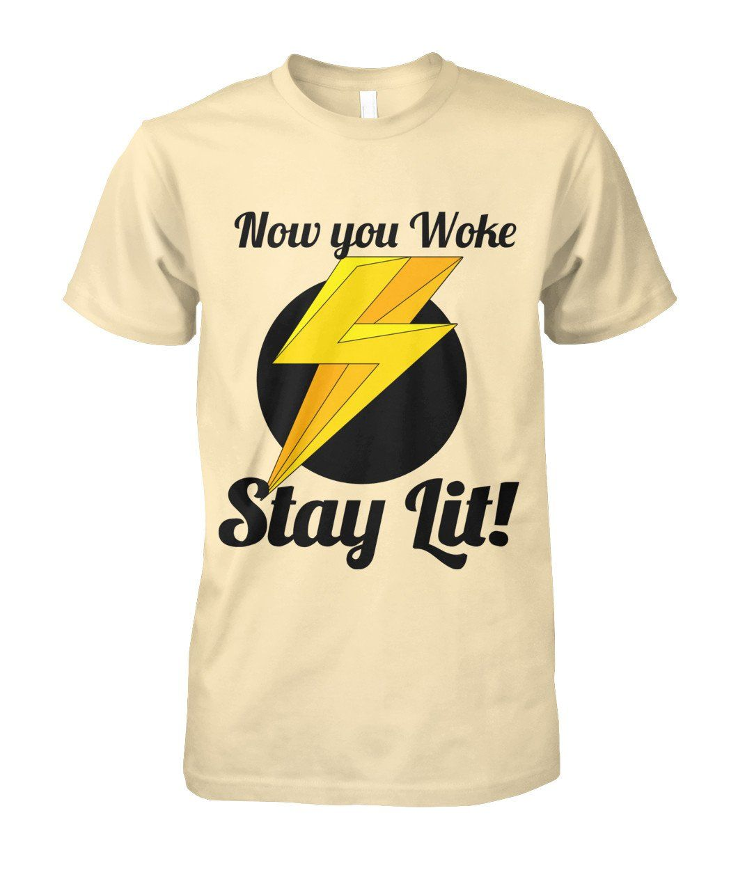 Stay Lit Mens tops, Cotton tee, Sleeves