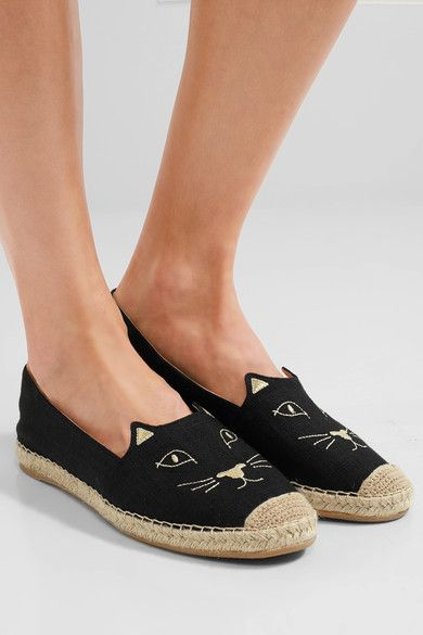 Charlotte Olympia Kitty Espadrilles Cheap Sale Best Place AS1tjhYh