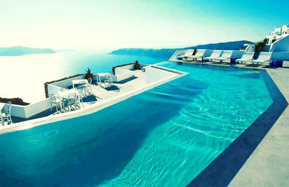 Hotels U0026 Resorts, Luxury Grace Hotel, Santorini Islands, Greece: Luxurious  Infinity Pool Design At Grace Santor.
