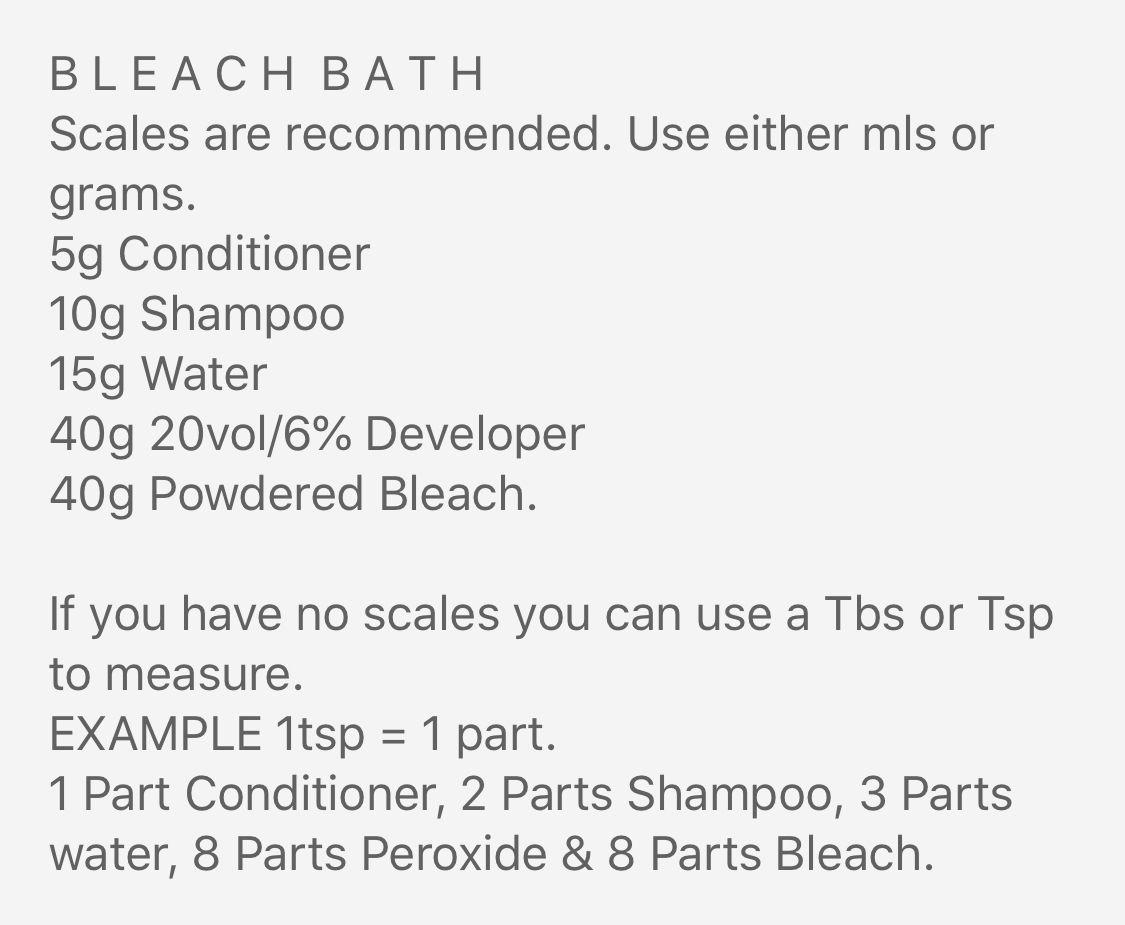 Bleach Bath Recipe Bleach Bath Hair Bleach Bath Bath Recipes