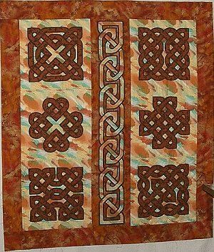celtic #knot #quilt by Kathy Johnson, found on http://www ... : celtic knot quilt pattern - Adamdwight.com