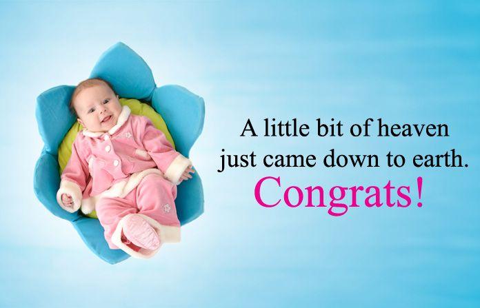 Congratulation Message For New Born Baby Birth Newborn