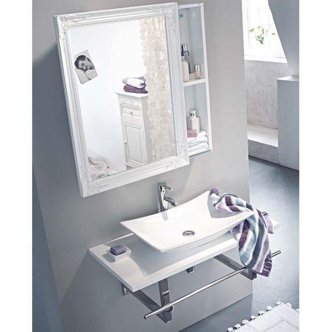 Spiegelschrank, Schiebetür, zwei Innenfächer, Holz Katalogbild - schiebetüren für badezimmer