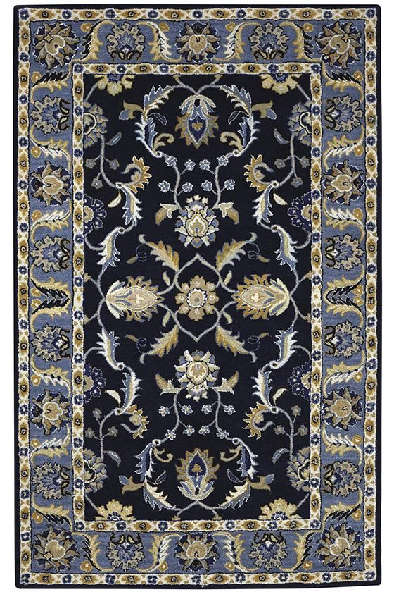 Finally an affordable blue wool rug that matches our colors aristocrat rug from home decorators