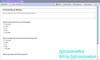 jyjoyner counselor: Minute Meeting w/ Technology