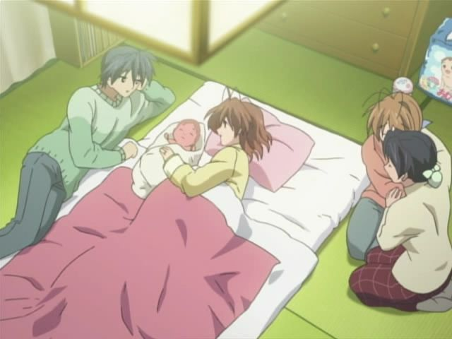 Baby Born Clannad Clannad After Story Anime Lovers