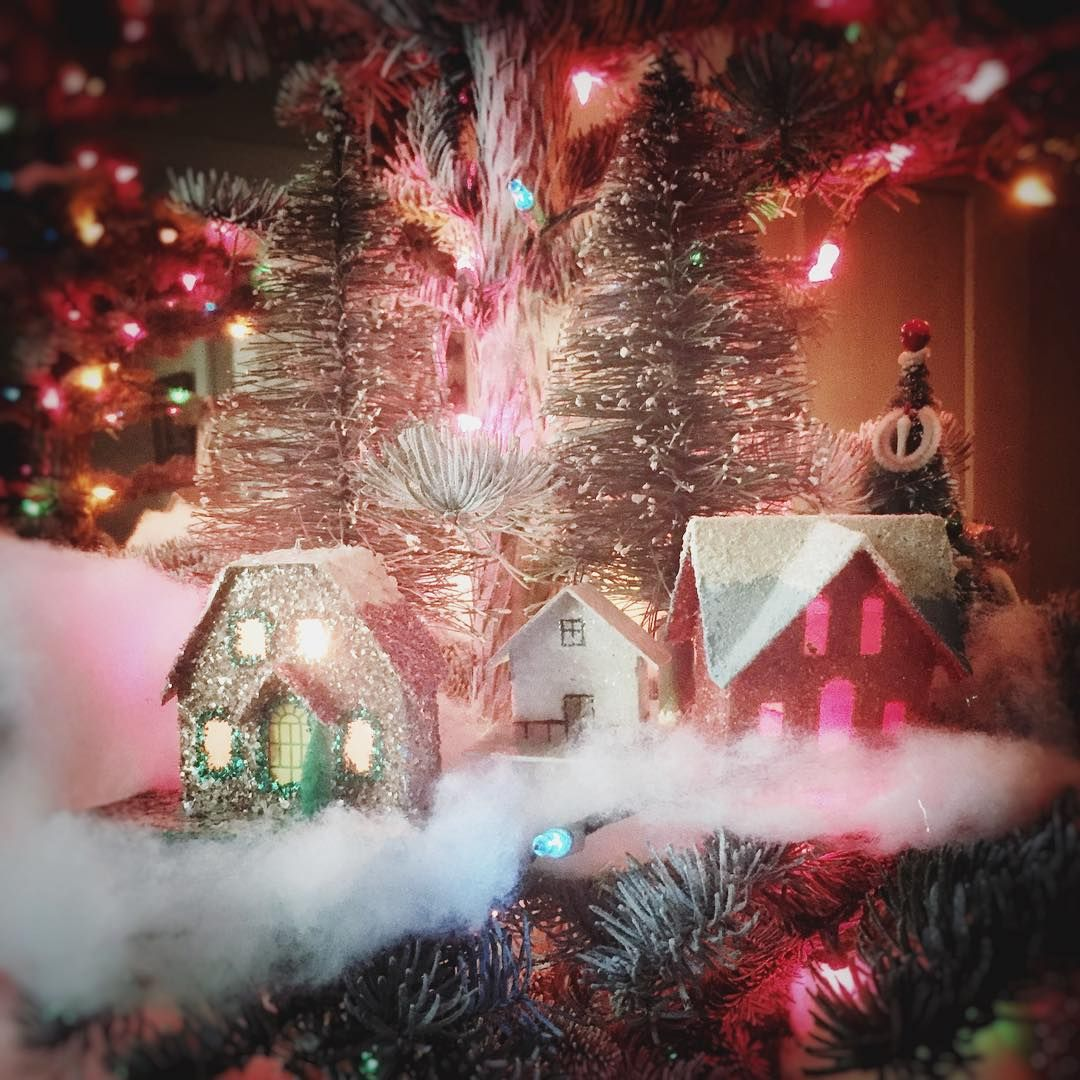 Christmas Tree Cyber Monday Deals 2020 Building my little village on the Christmas tree, then it's off to