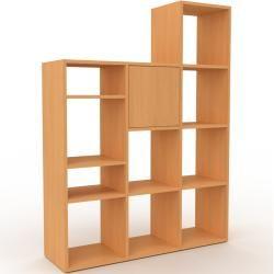 Photo of Regalsystem Buche – Flexibles Regalsystem: Türen in Buche – Hochwertige Materialien – 118 x 157 x 35