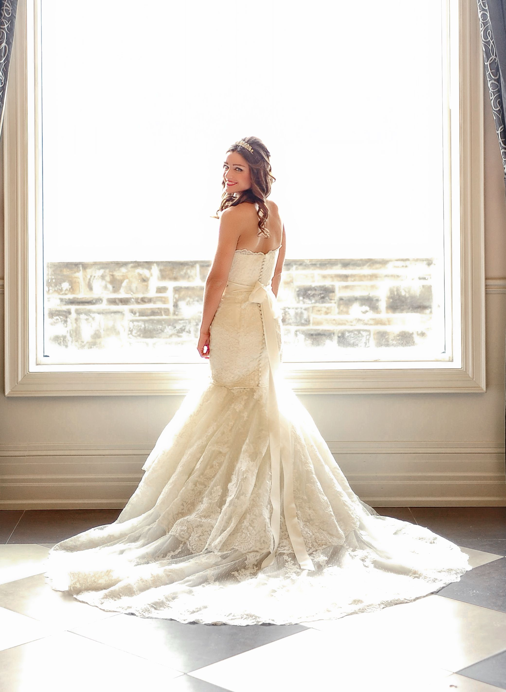 Wedding photography bride closeup dress st patrick rivoli