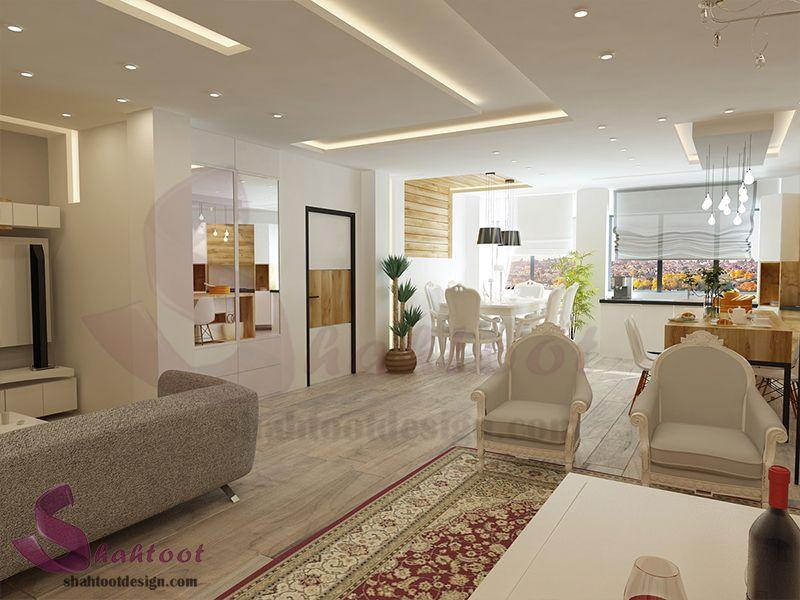 بازسازی و طراحی دکوراسیون منزل واقع در امیر آباد House Design Home Home Decor