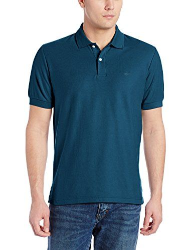 bbef30cd Dockers Men's Heritage Short-Sleeve Pique Polo Shirt http://www.allmenstyle