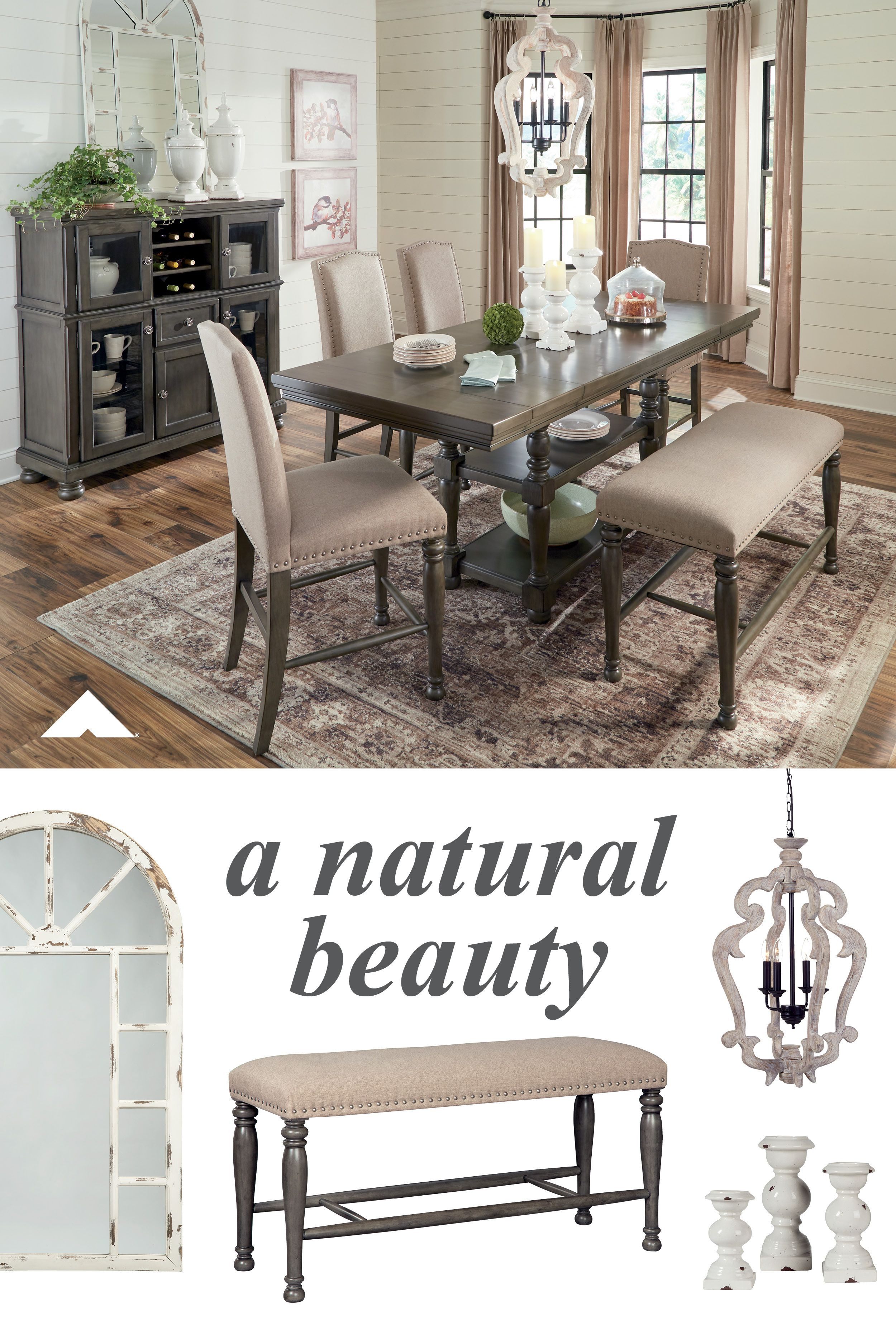 Audberry Counterheight Dining Room Set If You Agree It S Time