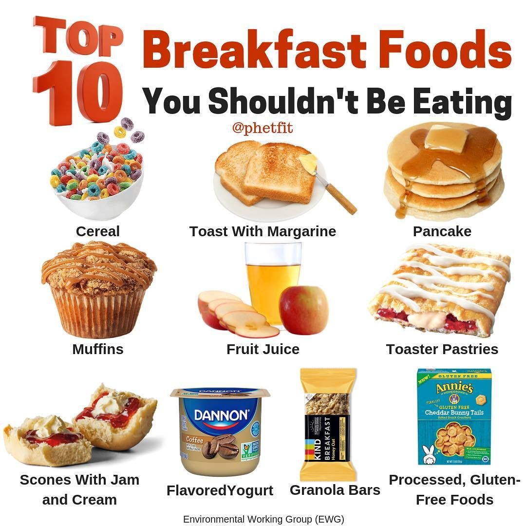 What do you think is the worst breakfast food!? Gıda