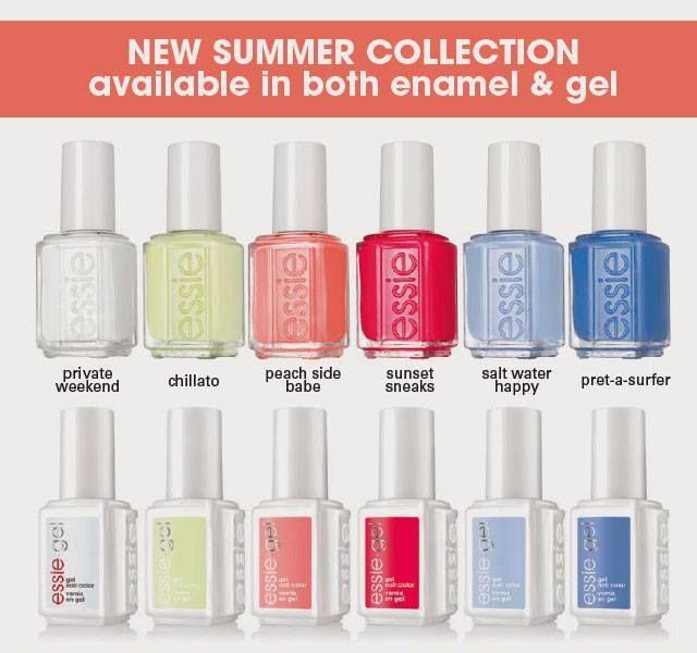 Essie Peach Side Babe 2015 Summer Collection