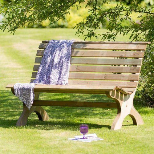 Gartenbank Harriet aus Holz Jetzt bestellen unter   moebel - garten lounge mobel holz