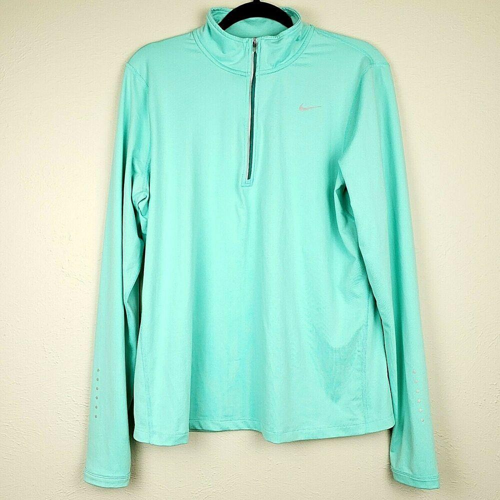 DRI Fit Half Zip Jacket Women's Plus Sizes