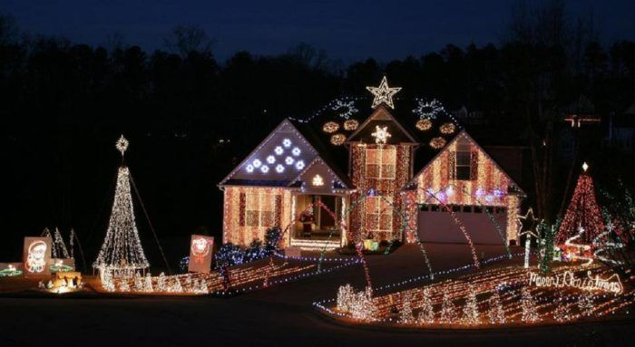 The Christmas Lights Road Trip Through Georgia That Will Take You