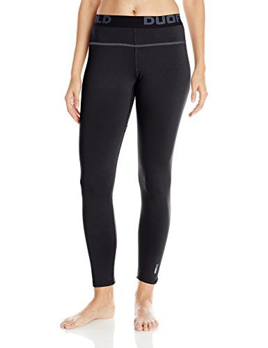 Duofold Womens Mid Weight Fleece Lined Thermal Legging