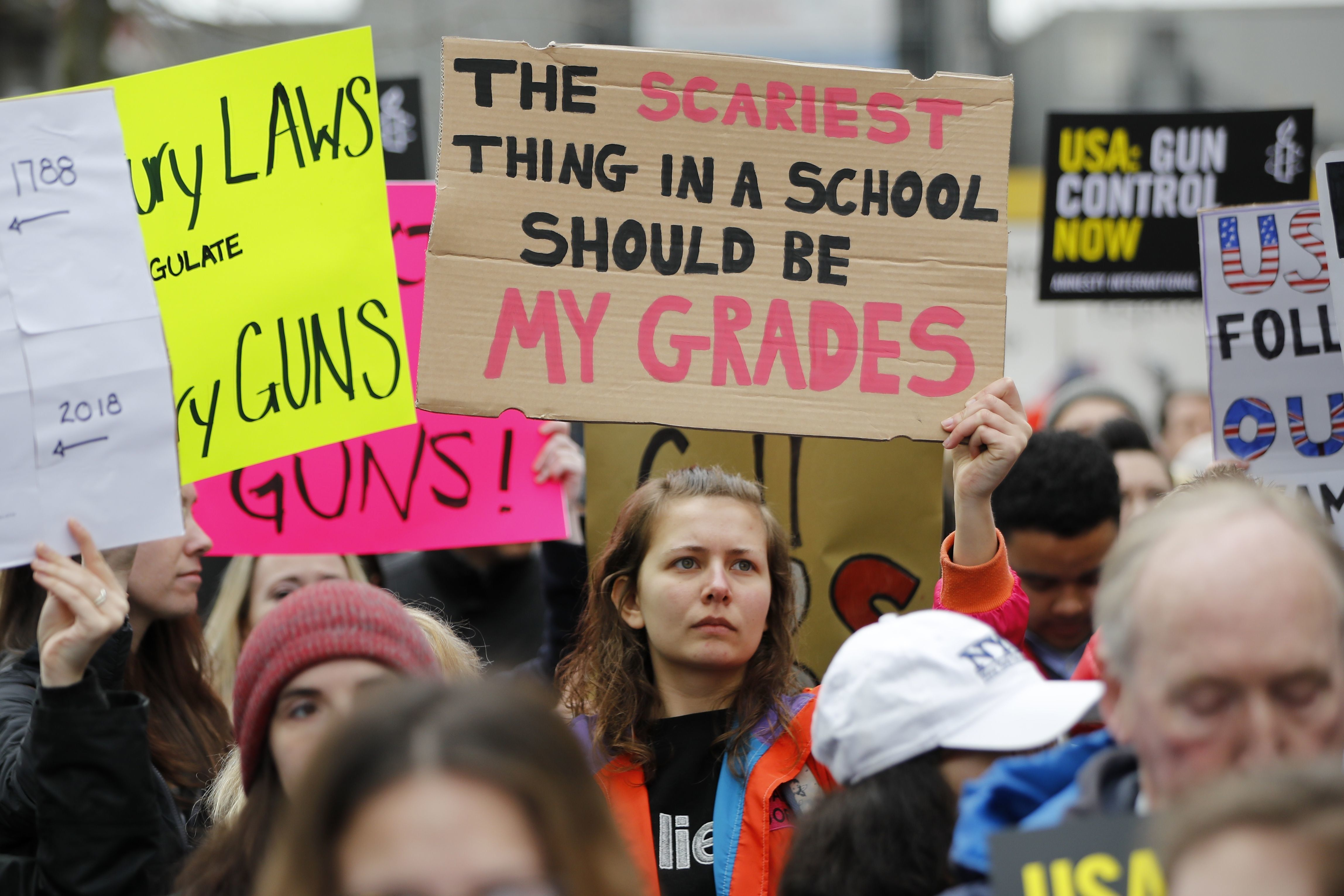These Are The Most Powerful Signs From March For Our Lives Rallies Around The World March For Our Lives Inspirational Signs Protest Signs