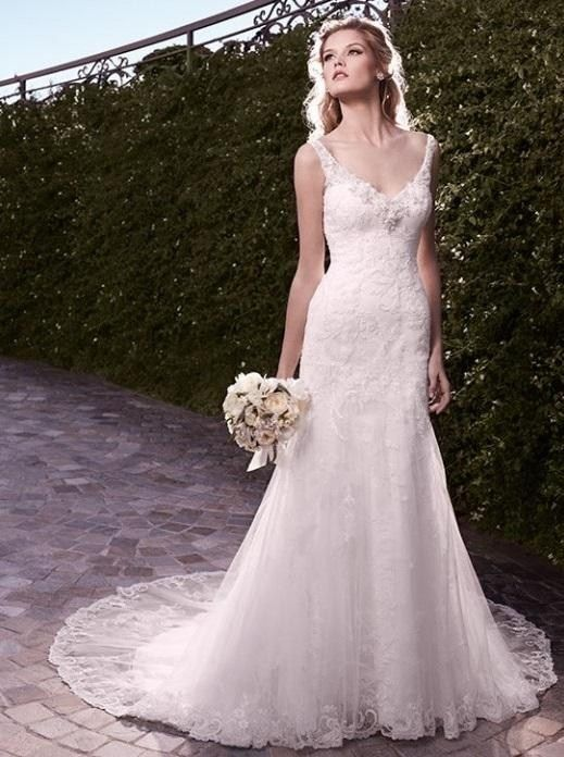 Leslie Casablanca Blush Bridal Boutique Lincoln Ne Wedding