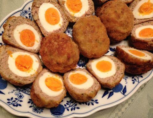 Die faschierten eier sind perfekt als partyh ppchen partyrezepte eier h ppchen und eier rezepte - Eier hart kochen ...