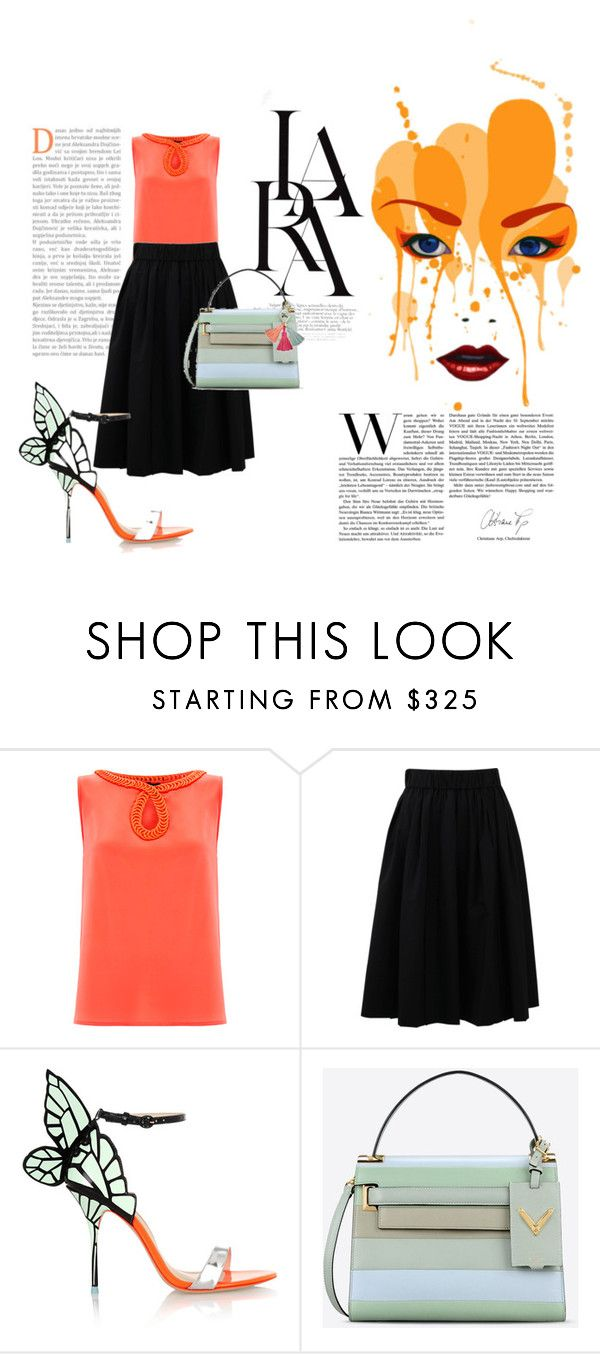 """""""LARA"""" by olecika-777 ❤ liked on Polyvore featuring Raoul, Brunello Cucinelli, LARA, Sophia Webster, Valentino, FOSSIL, women's clothing, women's fashion, women and female"""
