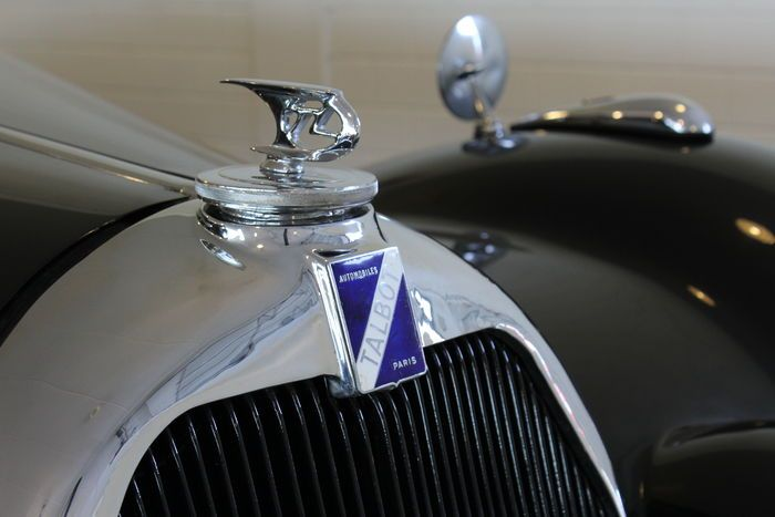 Talbot Lago Record T26 Coupe 1948 Antique Cars Hinterachse