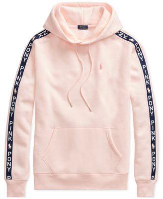 9c633565 Pink Pony Fleece Hoodie | Products | Fleece hoodie, Hoodies, Polo ...