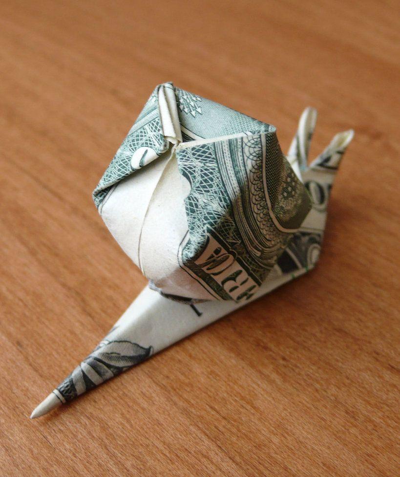 Origami Tutorial: Snail (Shiri Daniel) - YouTube | 976x819