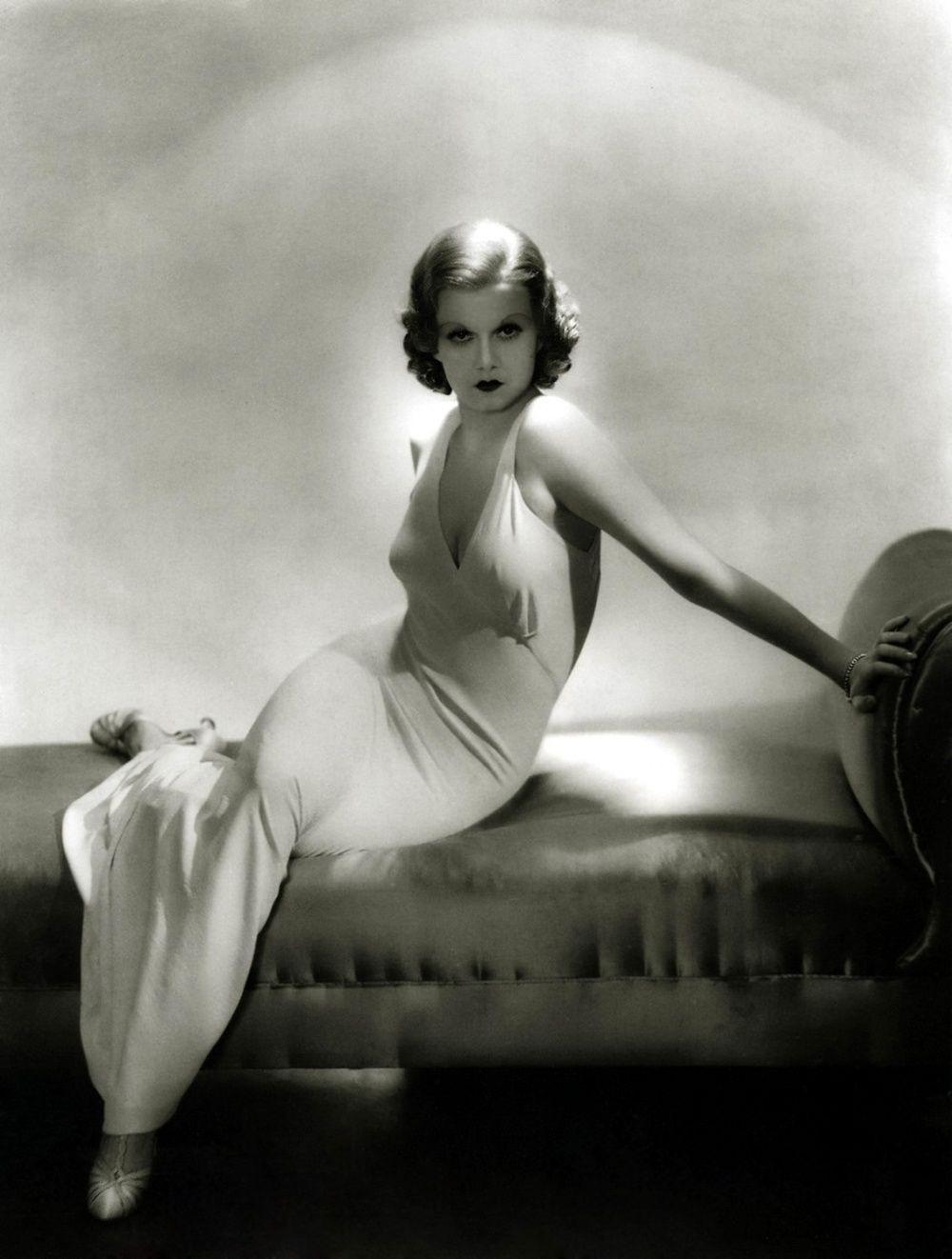 Jean Harlow Jean harlow, Vintage hollywood, Hollywood