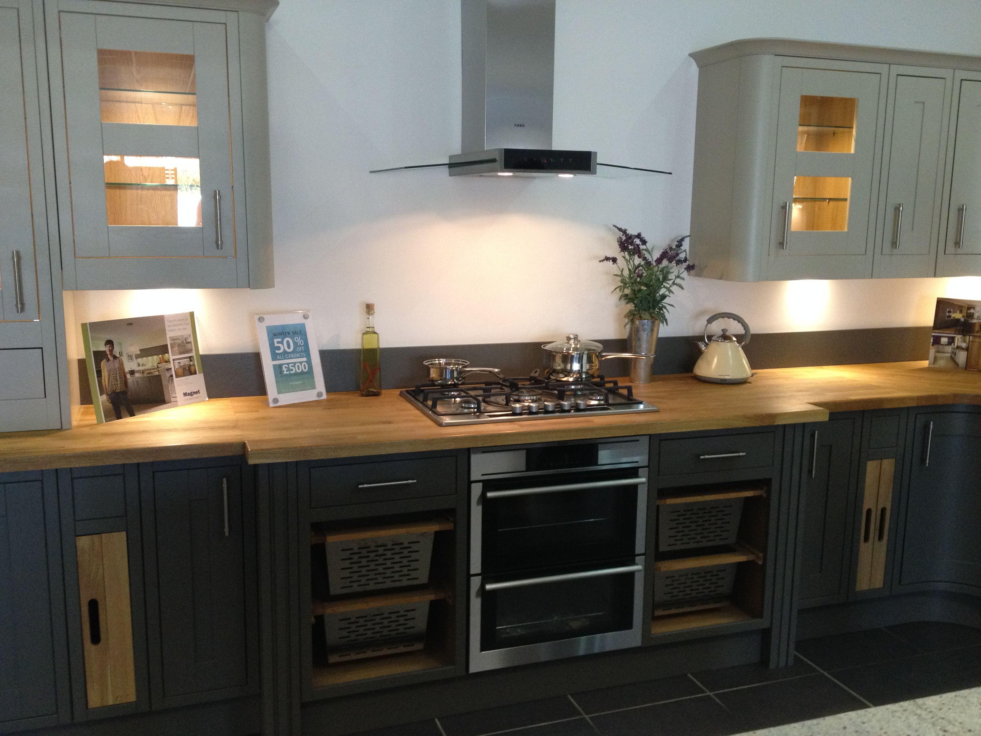 Somerton Sage & Somerton Fern Kitchen from Magnet   Kitchen ideas ...