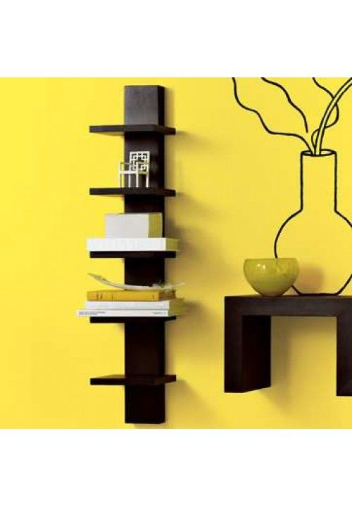 Ikea Spine Wall Shelf Versatile Narrow Lack Black Home