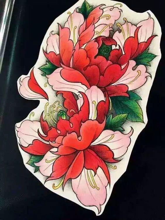 Pin By Joe Carey On Tattoos Japanese Flower Tattoo