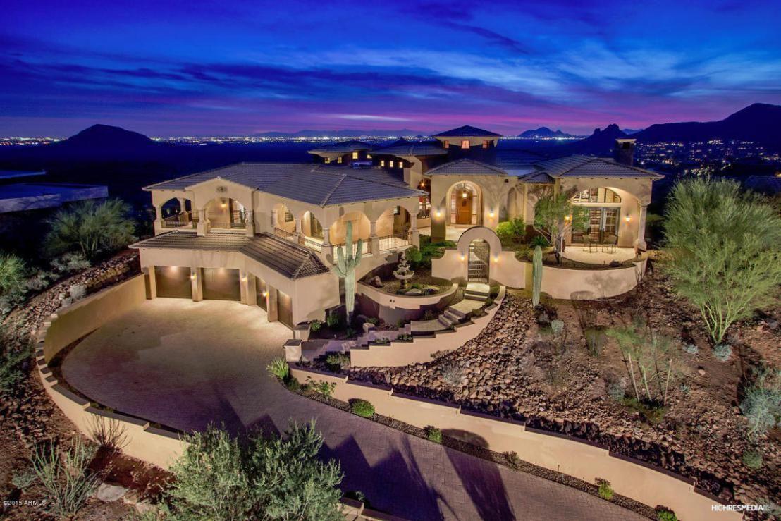 Firerock Scottsdale Arizona Neighborhood Fountain Hills Arizona House Mansions