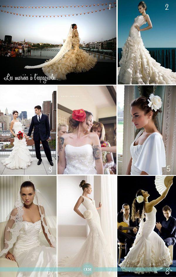 Les mariées à l'espagnole (avec images) |