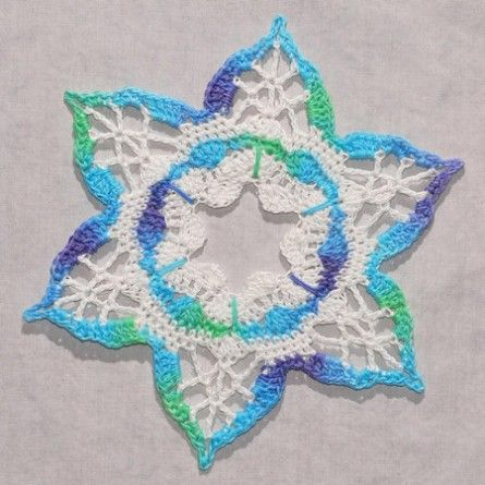 Suncatcher Snowflake Crochet Crochet Snowflakes And Free Pattern
