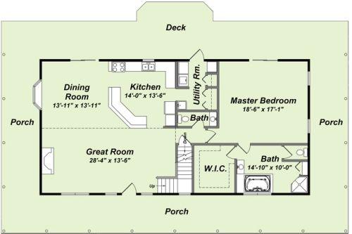 Log Home Floor Plans   Mountain Creations Log Homes Most Popular Floor Plans